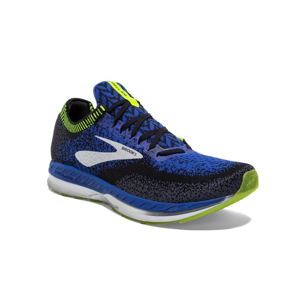 Running Brooks Bedlam Nero Blu Uomo 1102831D069 Acquista