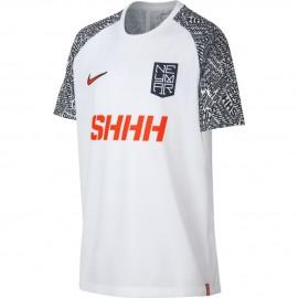 Nike T-shirt Manica Corta Dry Neymar Bianco Rosso Uomo