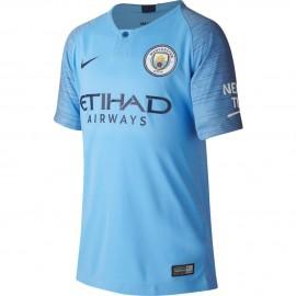 Nike T-shirt Manica Corta Manchester Home Blu Navy Uomo