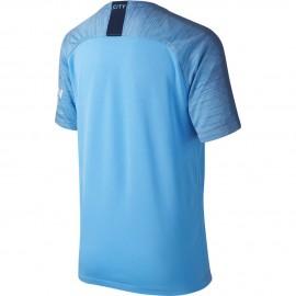 Nike T-shirt Manica Corta Manchester Home Blu Navy Bambino