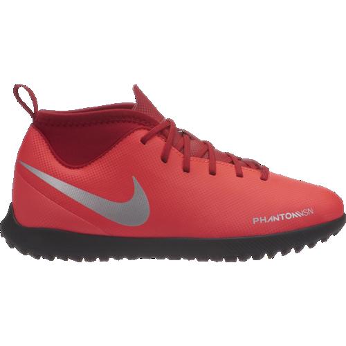 brand new 88475 1babf Calcio Nike Phantom Vision Club TF Rosso Argento Bambino AO3294-600...