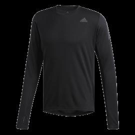 Adidas Maglia Running Manica Lunga Own The Run Nero Uomo