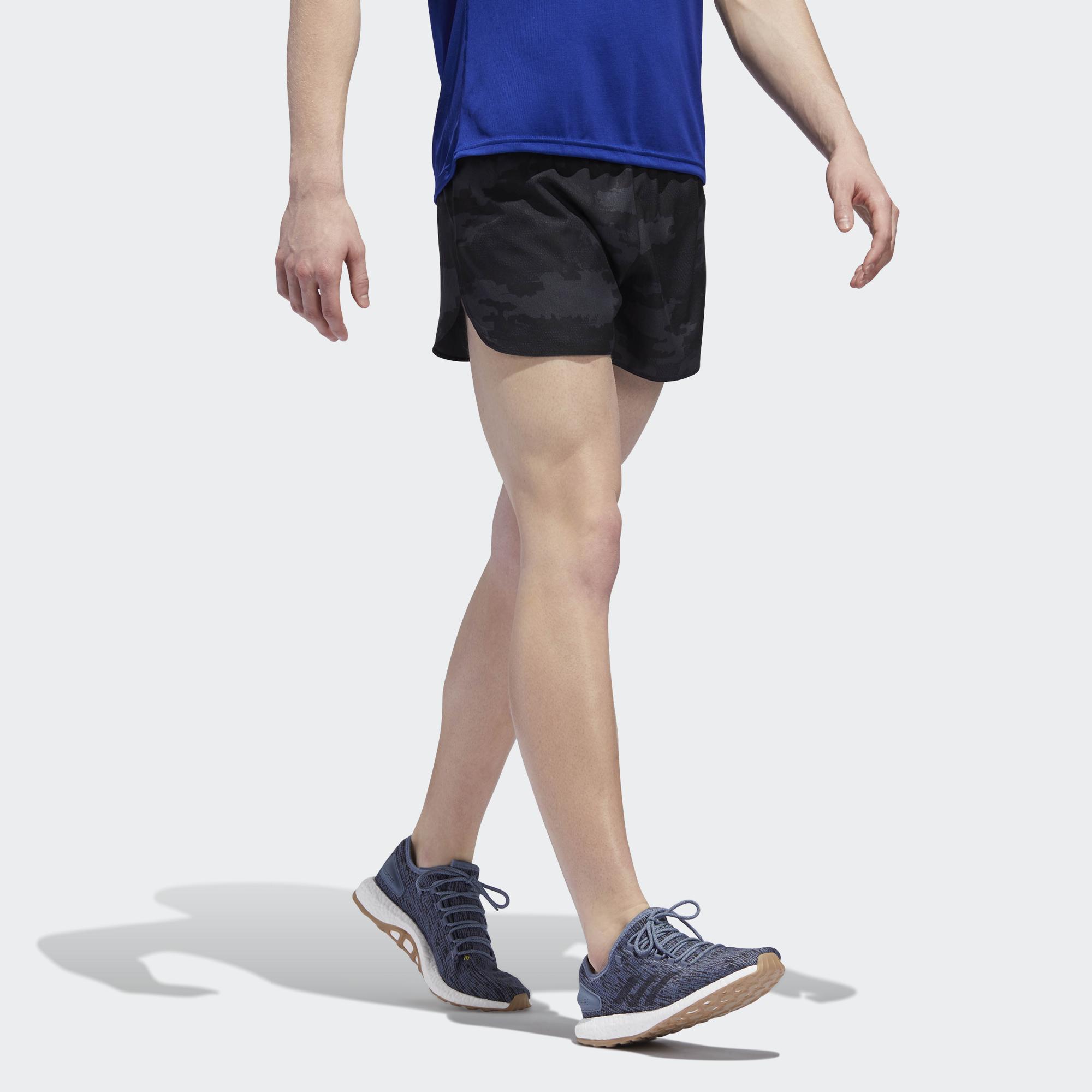 ADIDAS Response Pantaloncini da Uomo Corsa SPLIT Grigio