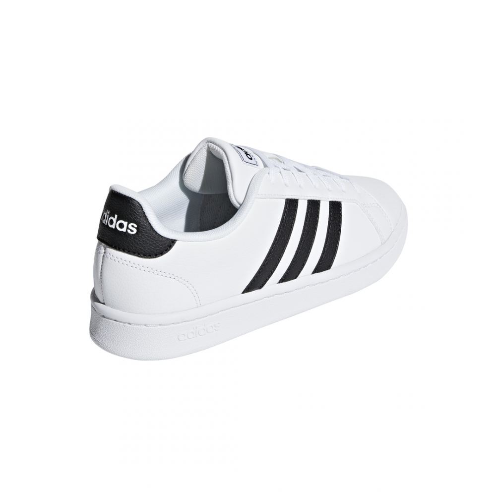 style ADIDAS grand court bianco nero donna f36483 acquista