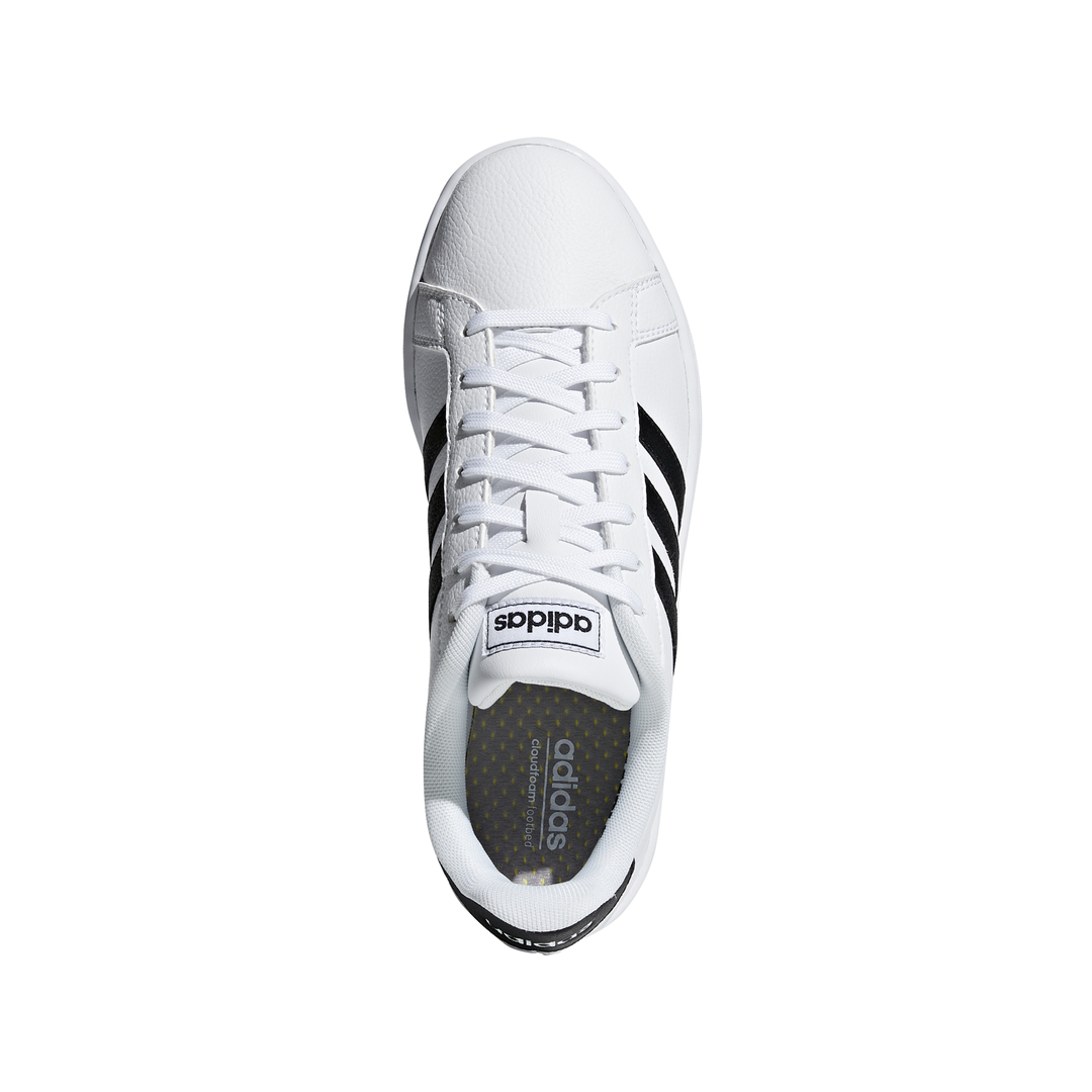 style ADIDAS grand court bianco nero donna f36483 acquista su spo