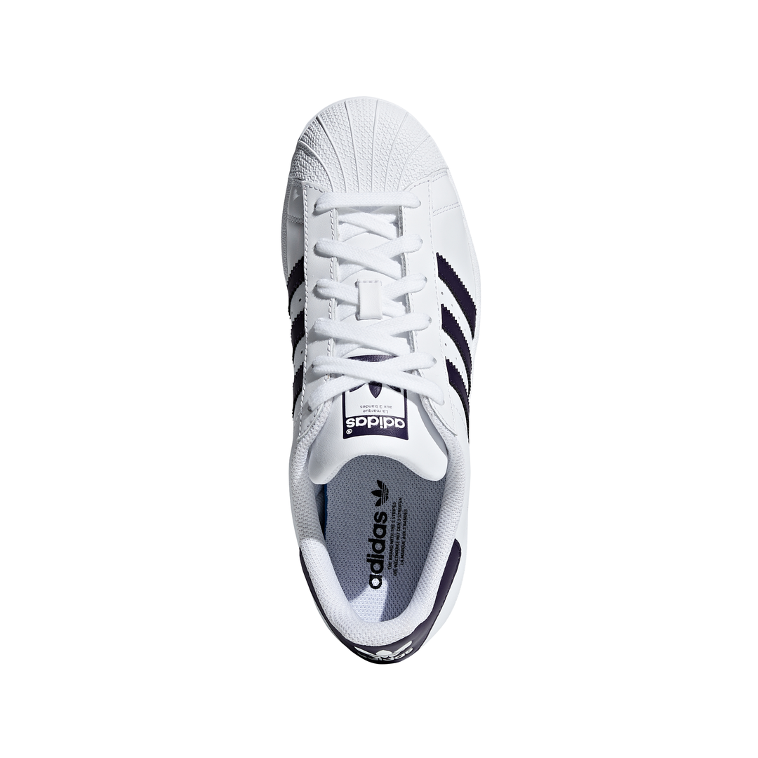 style ADIDAS originals superstar bianco viola donna db3346 acquis