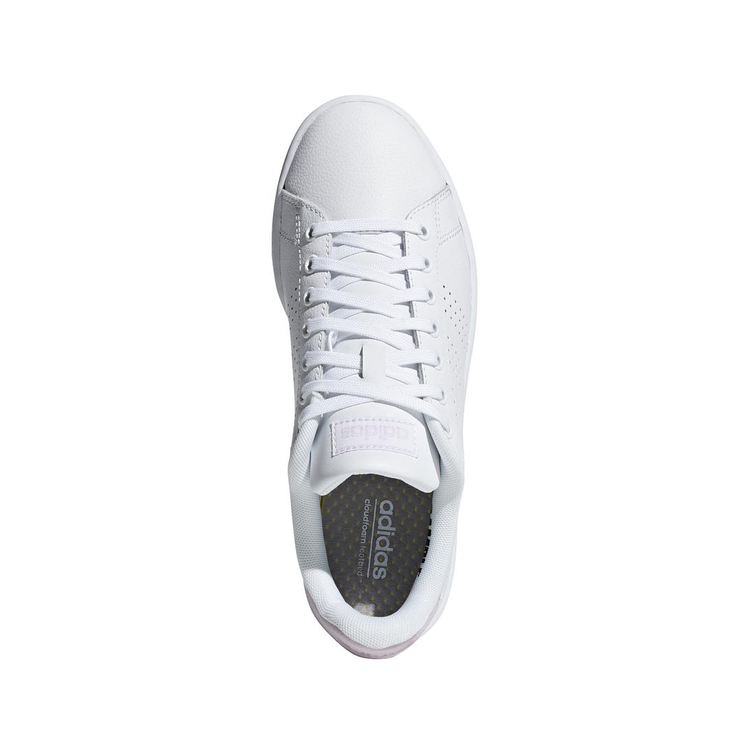 style ADIDAS sneakers advantage bianco rosa donna f36481 acquista