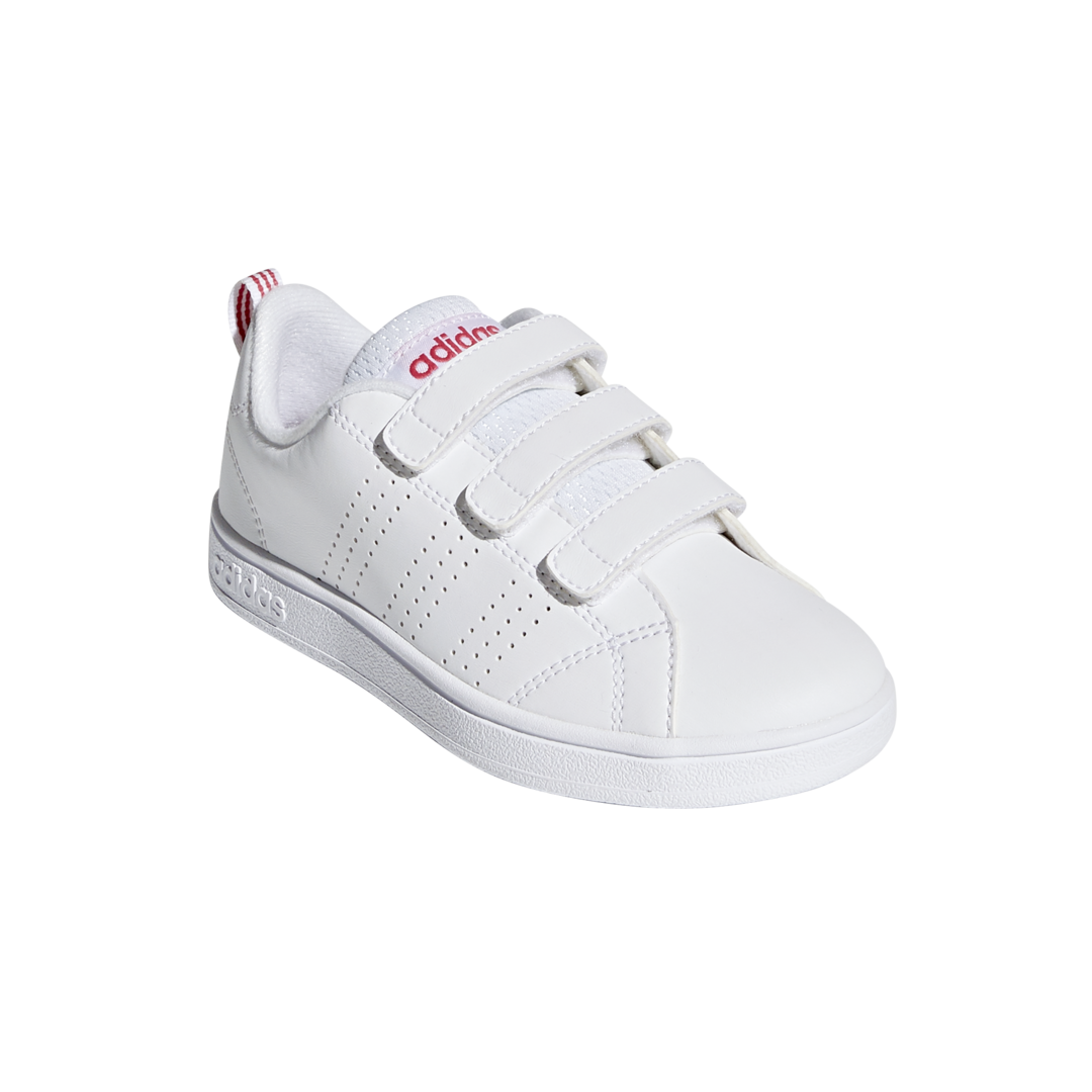 best service 72575 bbbce palestra ADIDAS vs advantage clean bianco rosa bambino bb9978 - acq.