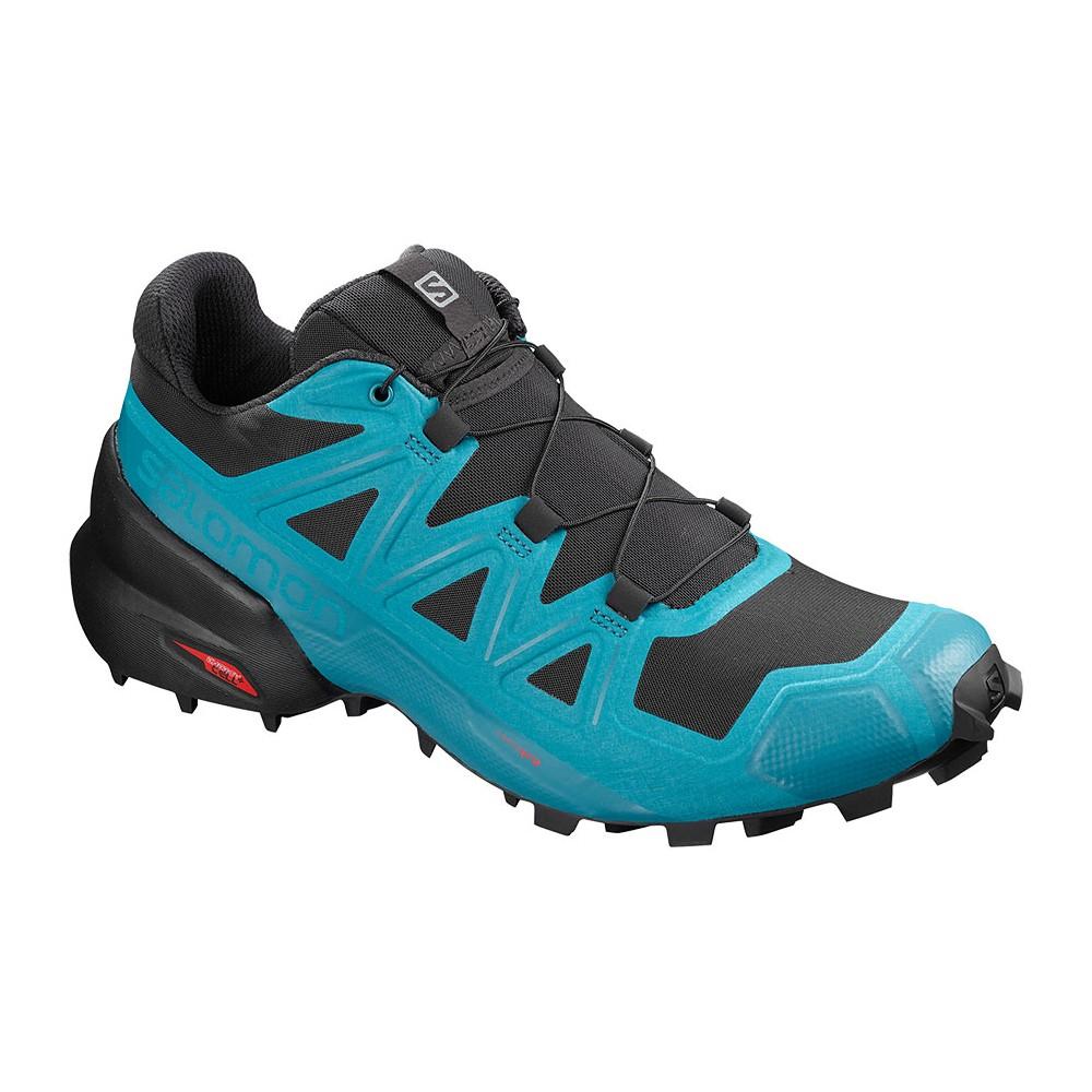SALOMON Speedcross 4 scarpa da allenamento nero grigio celeste