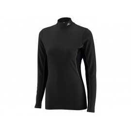 Mizuno Bt T-Shirt Ml Run Lupetto Middleweight Nero Donna