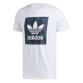 Adidas Originals T Shirt Towning Bianco Nero Uomo