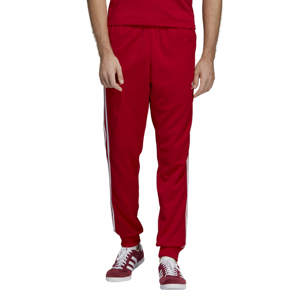 pantaloni adidas uomo estivi rossi