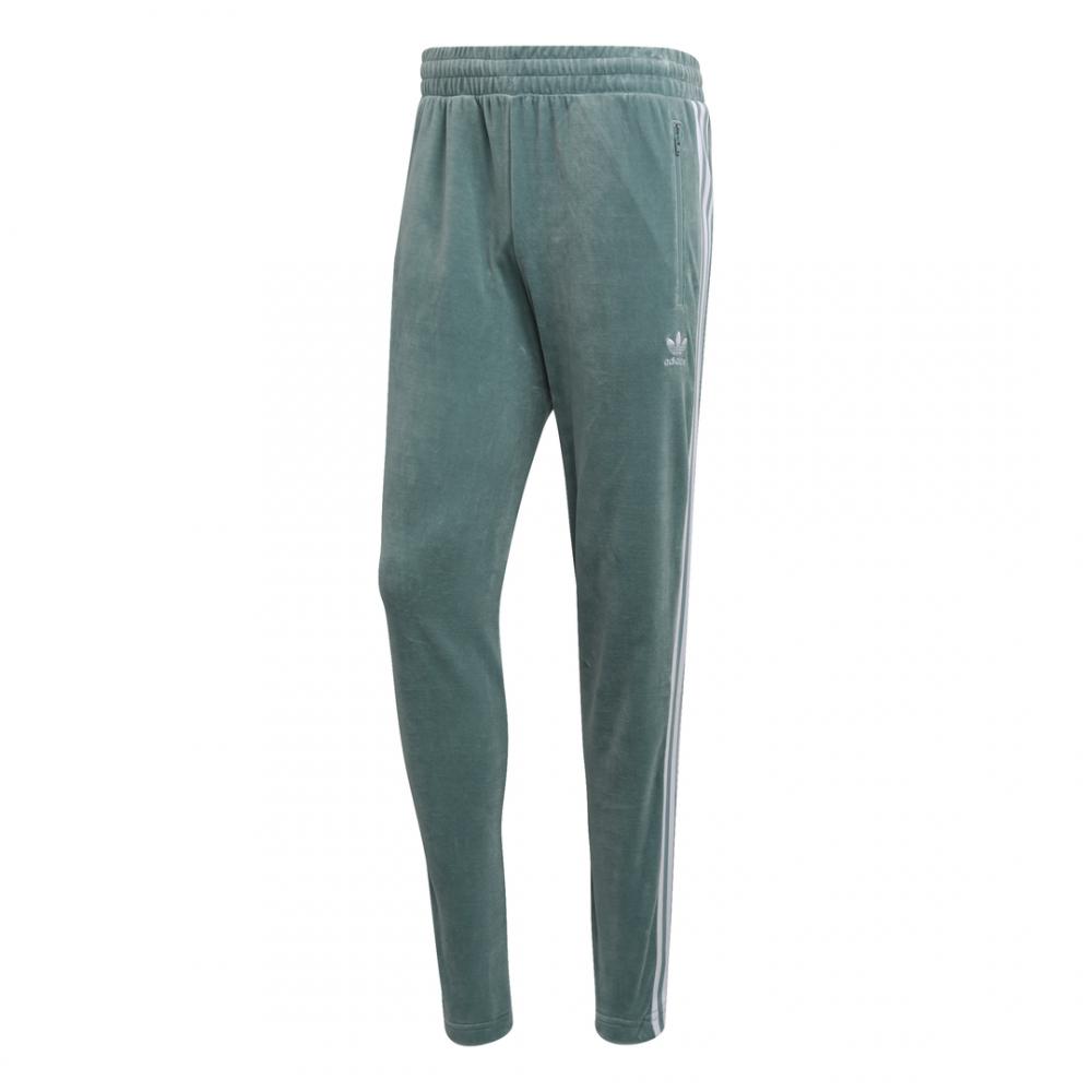 pantaloni adidas verde uomo