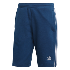 ADIDAS originals short 3 stripes azzurro uomo