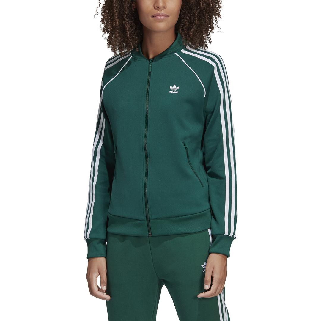 Verde Felpa Felpa Adidas Adidas Strisce OX8PNnw0k