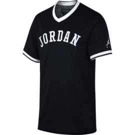 Nike T-Shirt Jordan Jumpman Air Mesh Nero Uomo