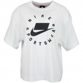Nike Sportswear Top Manica Corta Bianco Donna