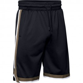 Under Armour Short Sportstyle Mesh Nero Uomo