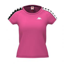 Kappa T-Shirt Crop Rosa Donna