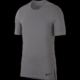 Nike Maglietta Palestra DriFit Yoga Grigio Uomo