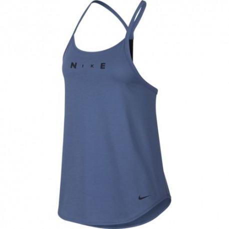 Nike Canotta Palestra Surf Azzurro Donna