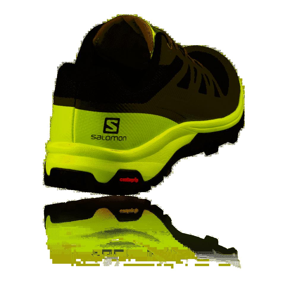 Salomon Scarpe Trekking Outline Nero Lime Uomo L40618900