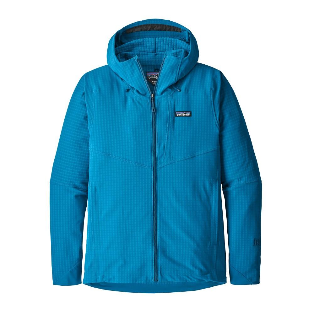 211639388b Trekking Patagonia Pile Montagna R1 Techface Hoody Balkan Blu Uomo ...