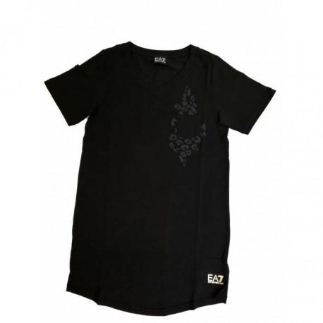 Ea7 T-Shirt Mare Vestito Nero Donna