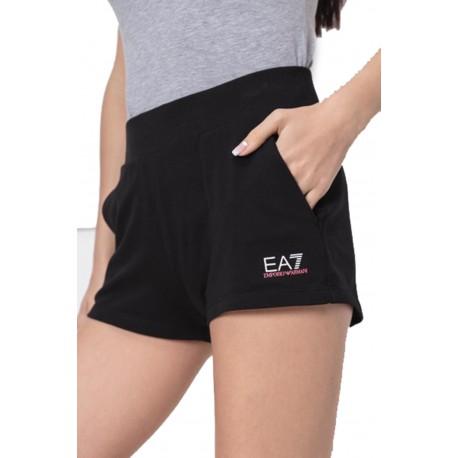 Ea7 Pantaloncini Mare Nero Donna