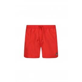 Ea7 Costume Boxer Logo Piccolo Rosso Uomo