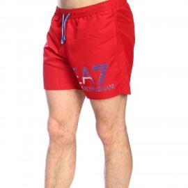 Ea7 Costume Boxer Rosso Uomo