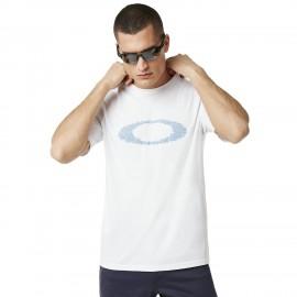 Oakley T-Shirt Mare Logo Bianco Uomo