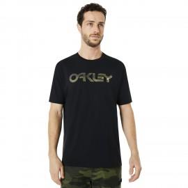 Oakley T-Shirt Mare Scritta Nero Uomo