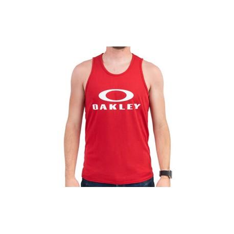 Oakley Canottiera Logo Rosso Uomo