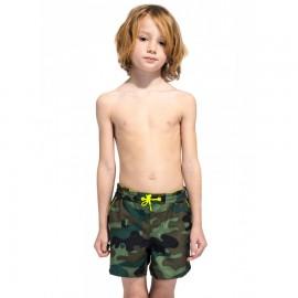 Sundek Costume Boxer Con Elastico Camou Bambino