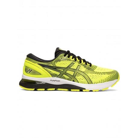 promo code 86c52 82ae0 Running Asics Scarpe Running Gel Nimbus 21 Giallo Uomo 1011A169750 ...