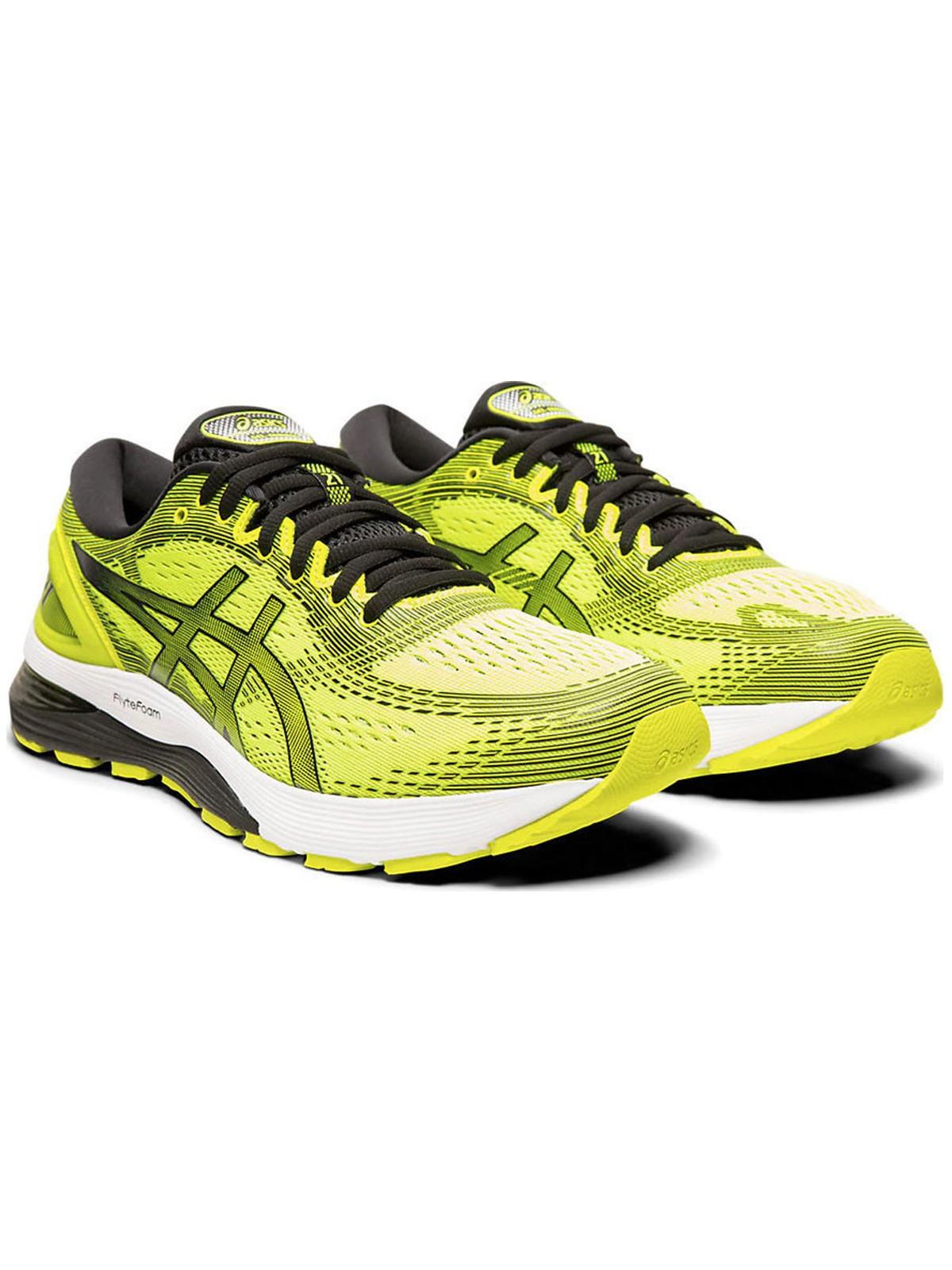 Running Asics Scarpe Running Gel Nimbus 21 Giallo Uomo 1011A169750