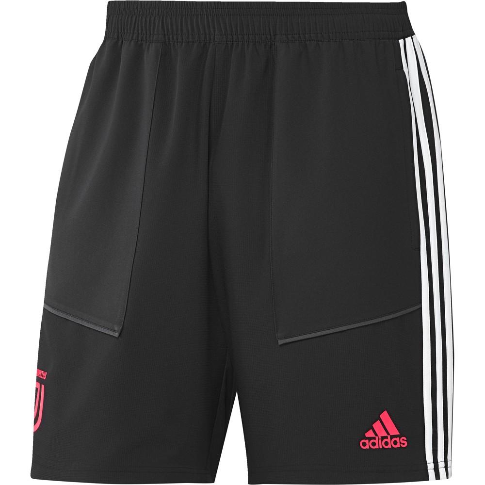 calcio ADIDAS pantaloncini calcio juve woven nero bianco uomo dx913