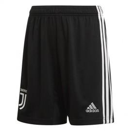 ADIDAS pantaloncini calcio juve home nero bianco bambino