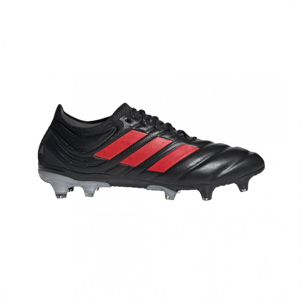 calcio ADIDAS scarpe da calcio copa 19.1 fg nero rosso uomo