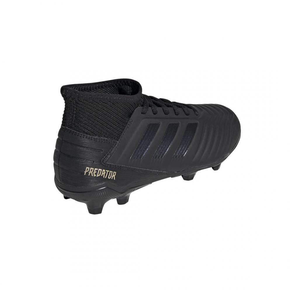 calcio ADIDAS scarpe da calcio predator 19.3 fg nero oro