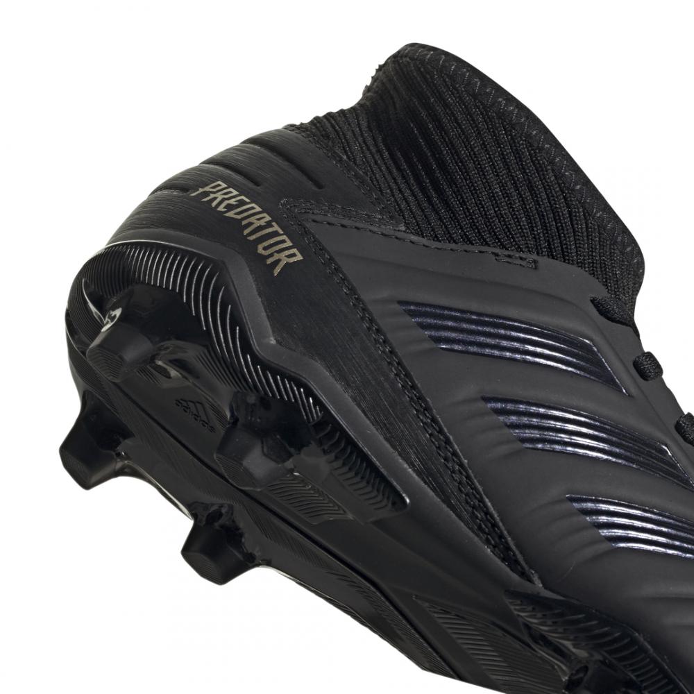 ADIDAS scarpe da calcio predator 19.3 fg nero oro uomo