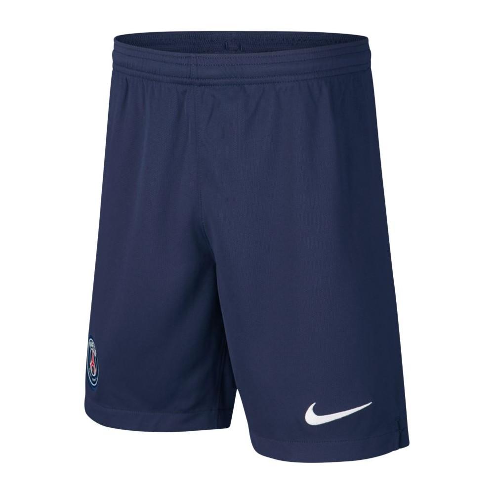 Nike Pantaloncini Calcio Psg Home 19 20 Blu Bianco Uomo