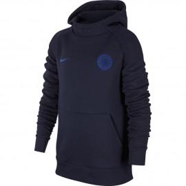 Nike Felpa Calcio Cappuccio Cfc Flc Obsidian Bambino