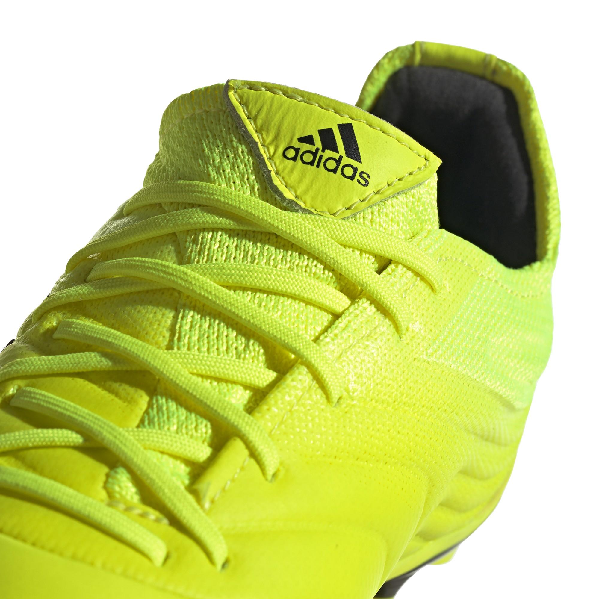 calcio ADIDAS scarpe da calcio copa 19.1 fg giallo nero bambino f35
