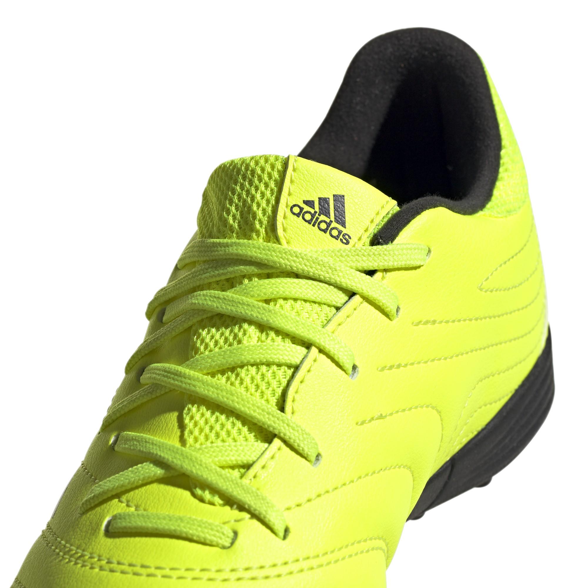 calcio ADIDAS scarpe da calcio copa 19.3 tf giallo nero bambino f35