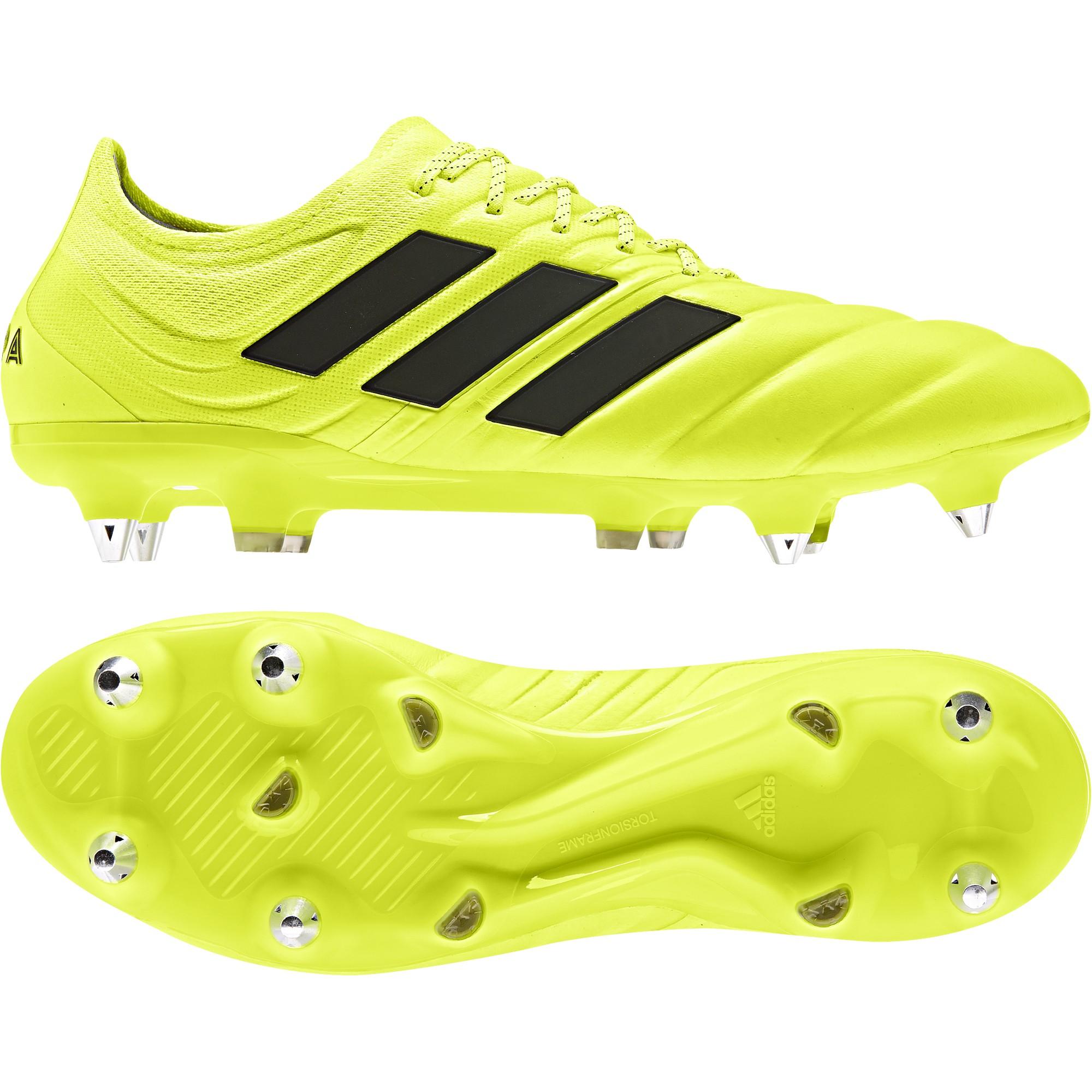 calcio ADIDAS scarpe da calcio copa 19.1 sg giallo nero uomo g26643