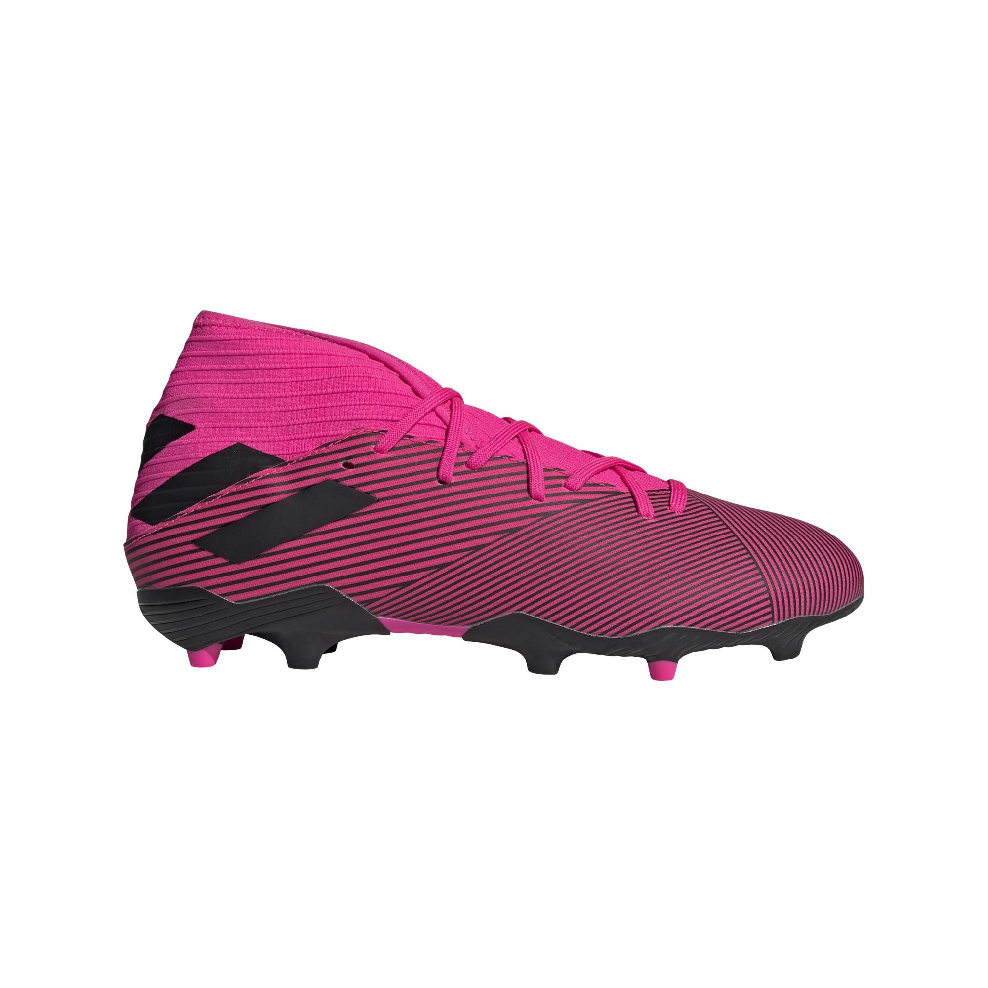 calcio ADIDAS scarpe da calcio nemeziz 19.3 fg rosa nero uomo f3438