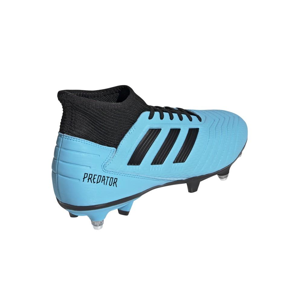 calcio ADIDAS scarpe da calcio predator 19.3 sg azzurro nero