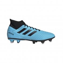 ADIDAS scarpe da calcio predator 19.3 sg cyan nero giallo uomo
